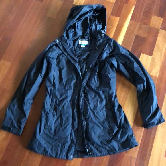 Black NWOT Mens M Columbia Evapouration Omni Tech Waterproof Rain Shell Pants